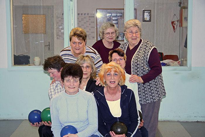 Freizeitkegelgruppe Frauen